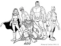 Gambar Karakter X-Men Untuk Diwarnai