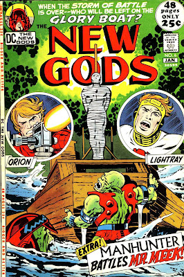 New Gods v1 #6 dc bronze age comic book cover art by Jack Kirby