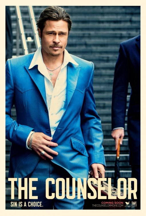 Counselor Brad Pitt movie poster