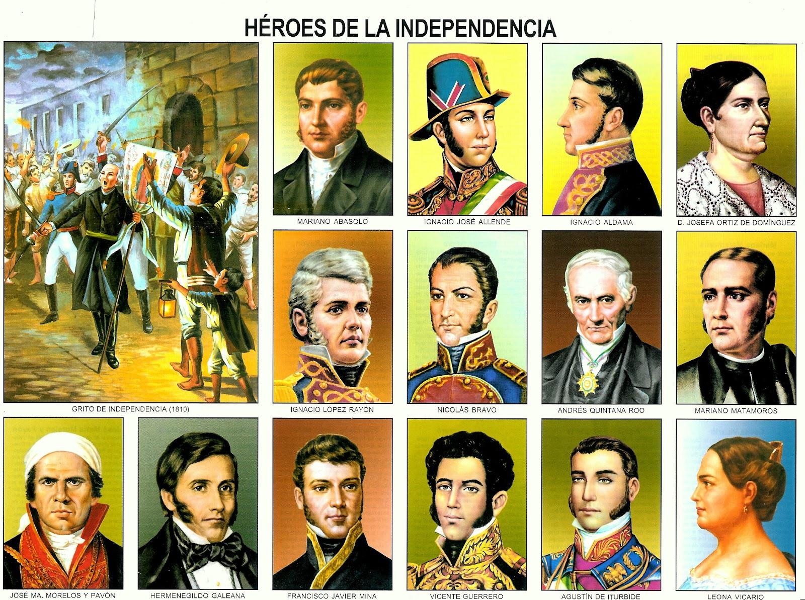 Héroes de la Independencia de México [Monografía]