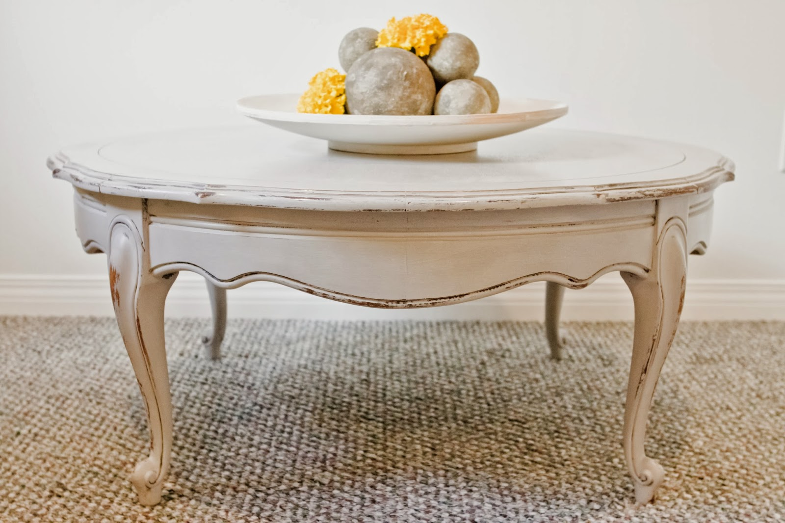 sweet tree furniture round french provincial coffee table