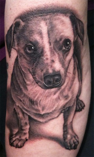 Bob Tyrrell Dog Tattoojpg