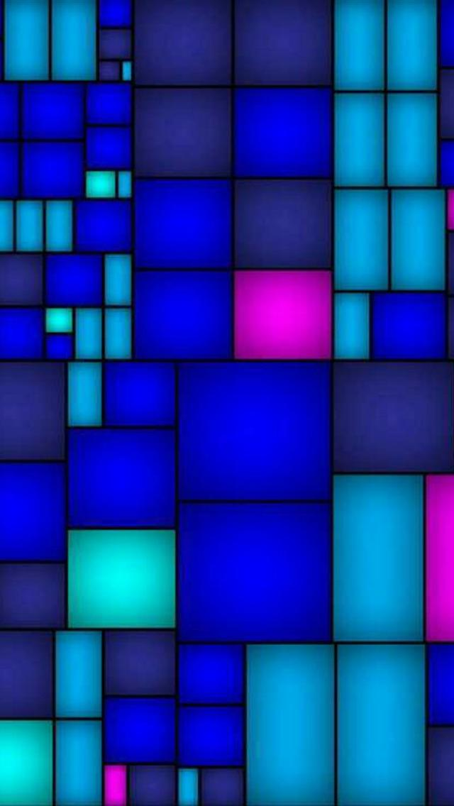 iphone 5 wallpapers hd: Abstract Color Cube iphone 5 ...