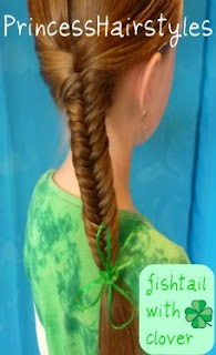 st patricks day hair idea