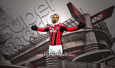 Mario Balotelli - A.C Milan Wallpaper