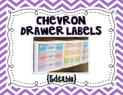 https://www.teacherspayteachers.com/Product/Chevron-Drawer-Labels-Editable-2064452
