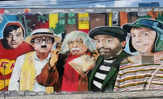 Homenagem a  Roberto Gómez Bolaños