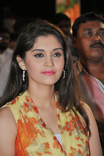 Actress Surabhi Pictures in Floral Dress at 365 Days Audio Launch  13.JPG