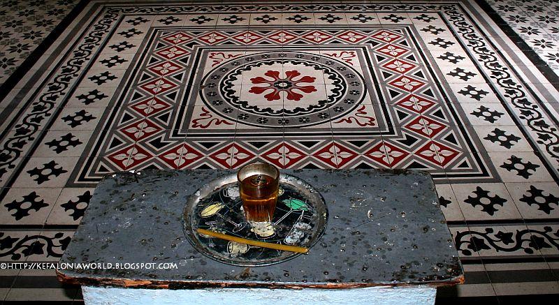 oil candle Kefalonia