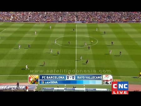jadwal siaran langsung rayo vallecano vs barcelona
