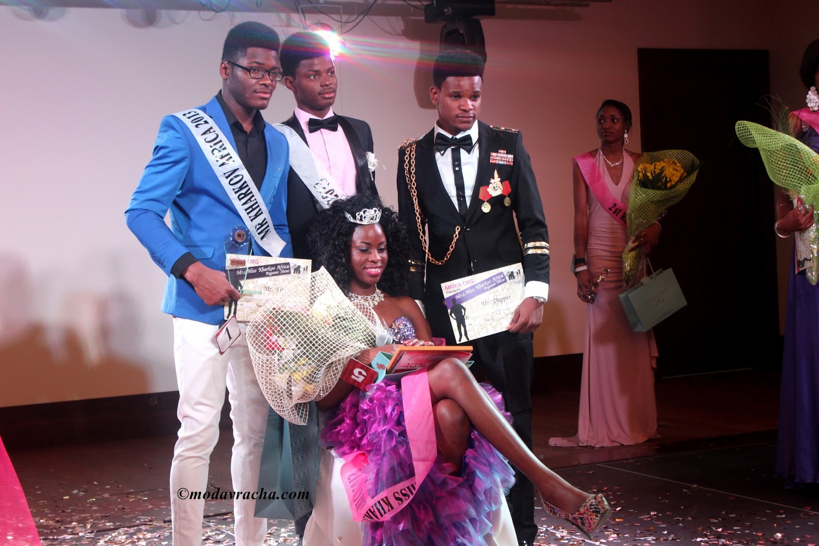 mr and miss kharkov africa 2013 winners, mmka13 winners