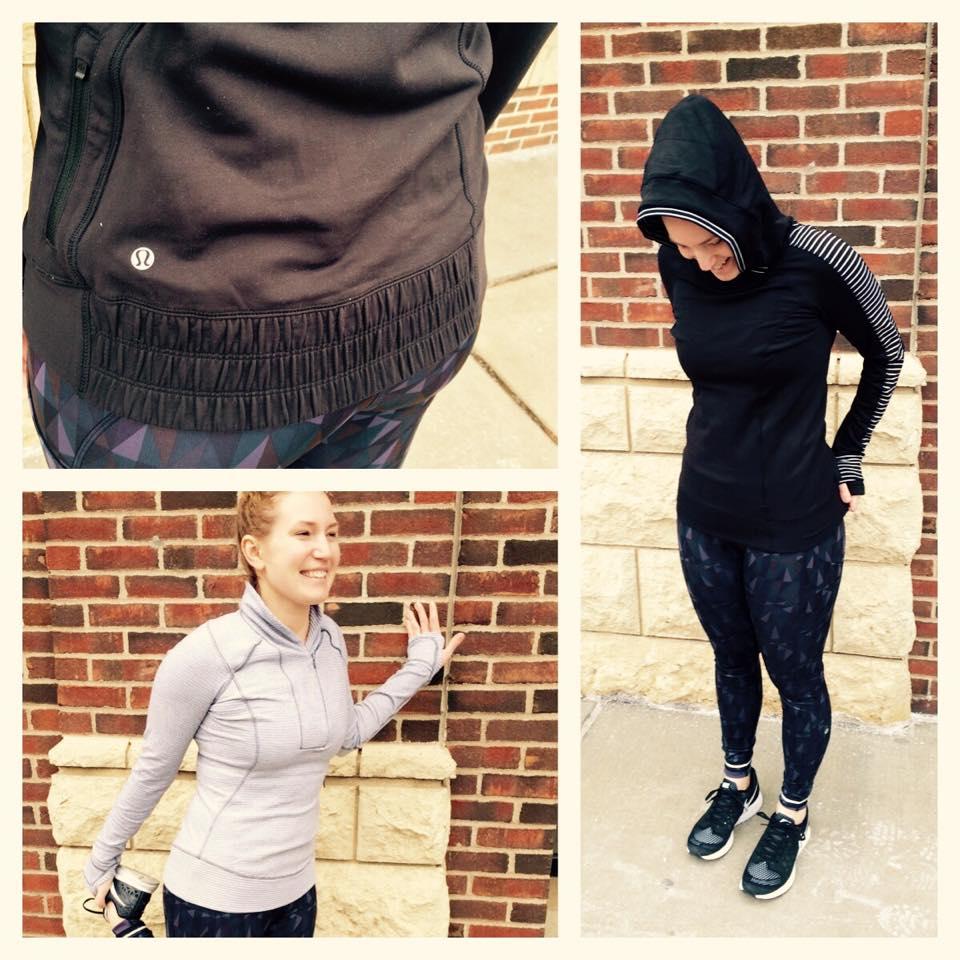 lululemon think fast hoodie pullvoer