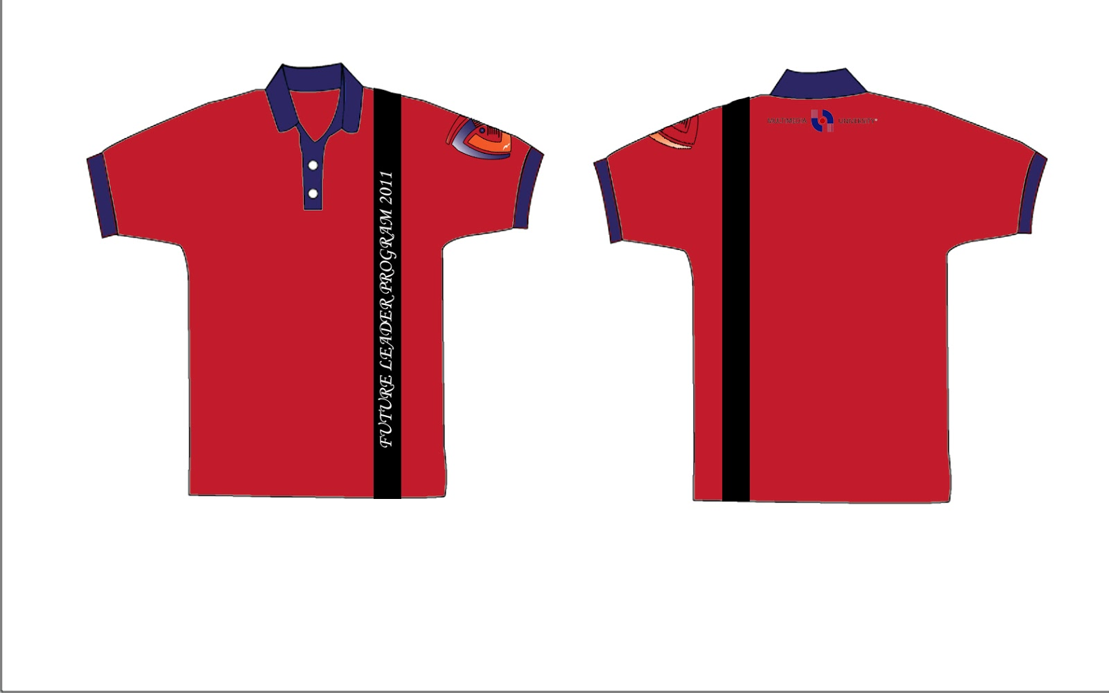 Design t shirt program - A Few Suggested T Shirt Design For Committee Of The Leadership Program Organized By Mmu Src And Also T Shirt Design For Upg