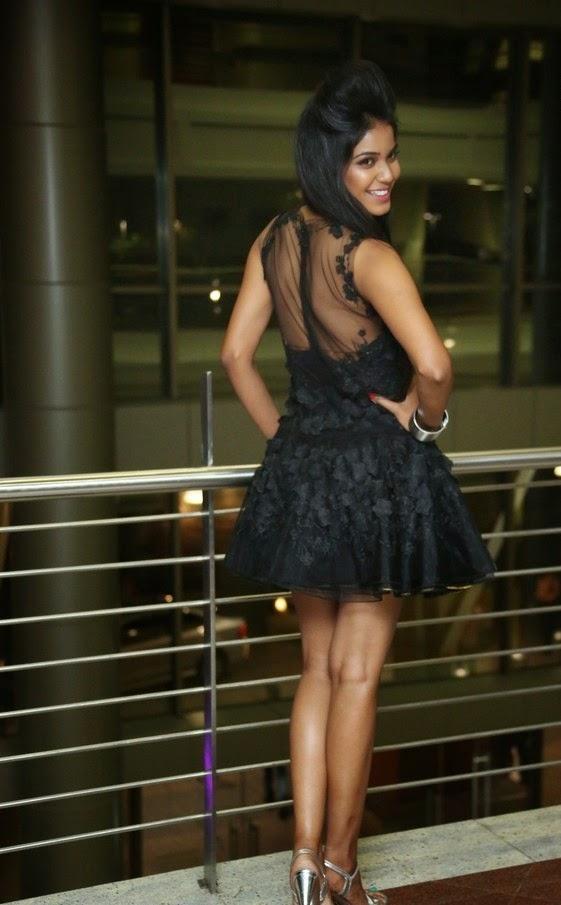 Deborah In Hot Black Dress at The Pink Affair Fashion Show Stills