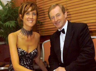 Minister Michelle Mulherin and Irish PM Enda Kenny