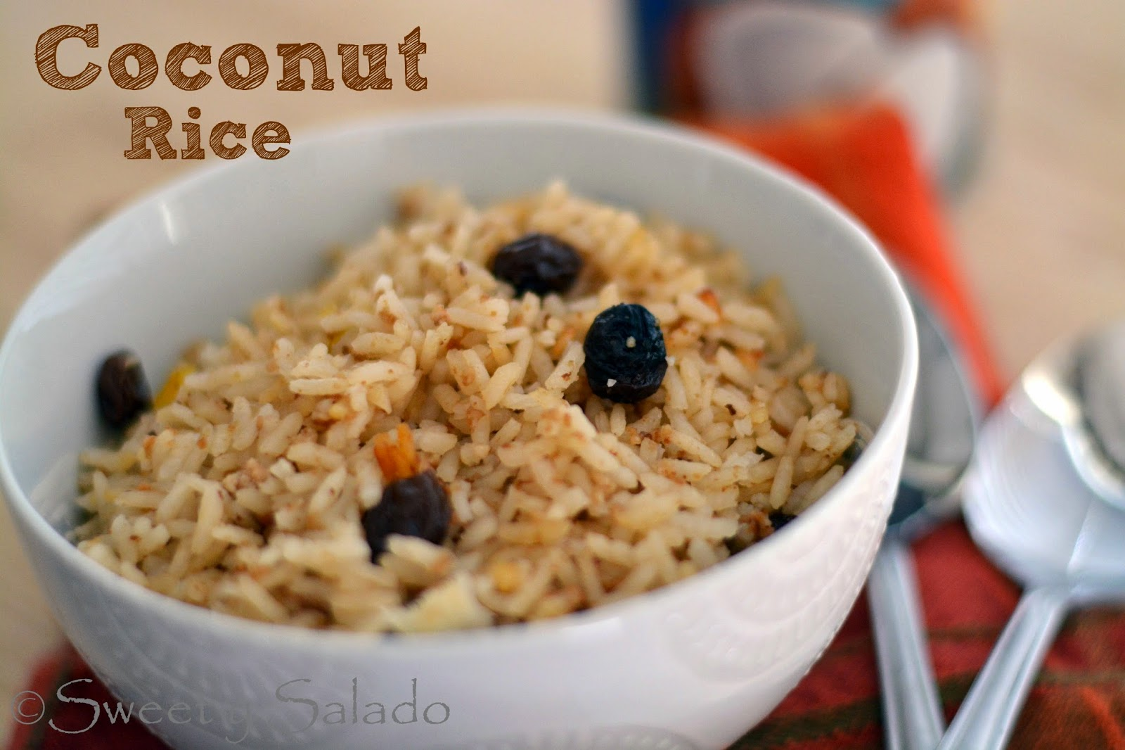 Sweet y Salado: Colombian Coconut Rice