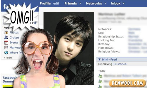 korean pop facebook