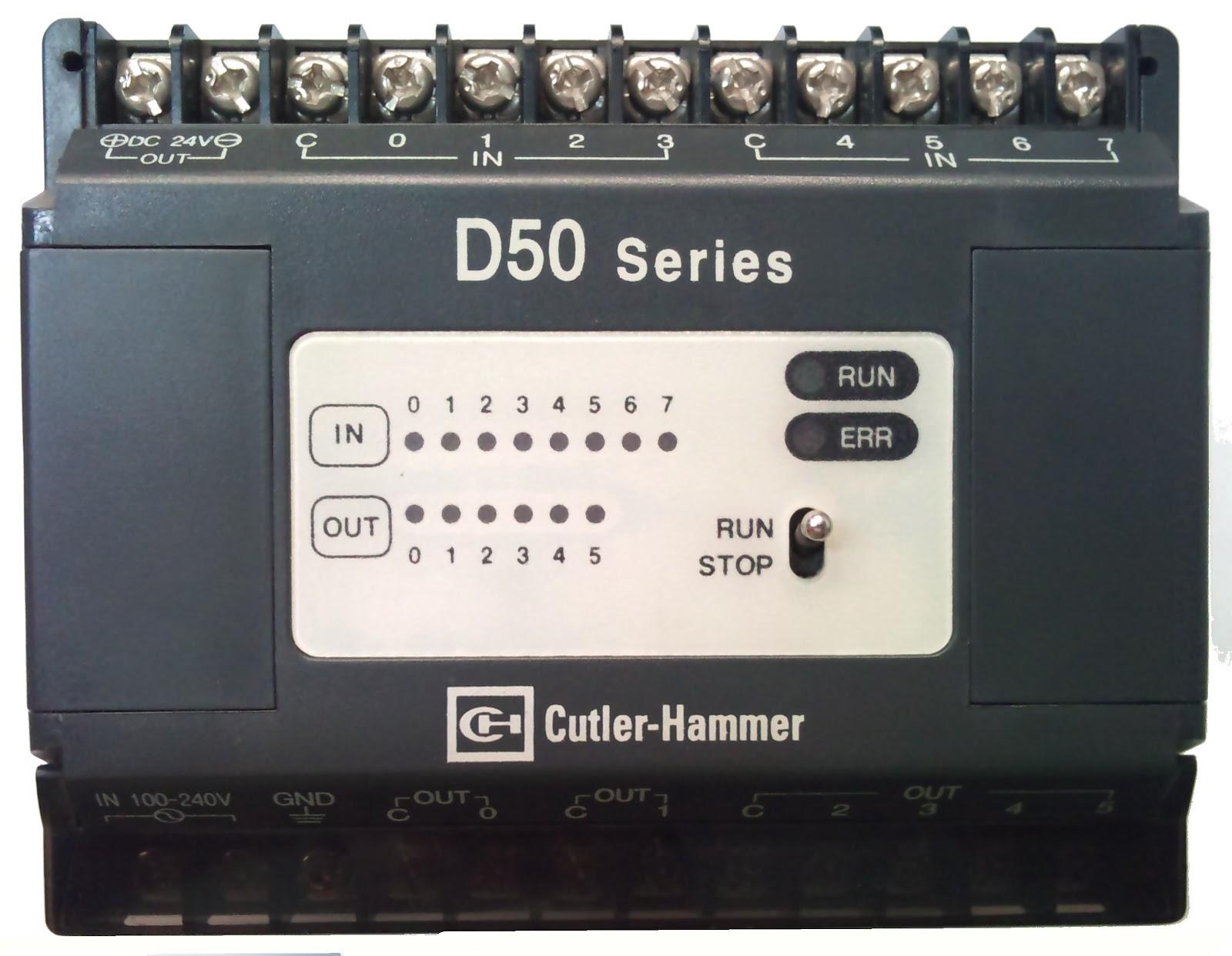Testando CLP Cutler Hammer D50. Foi usado o programa WINGPC v2.50  #826849 1600x1242