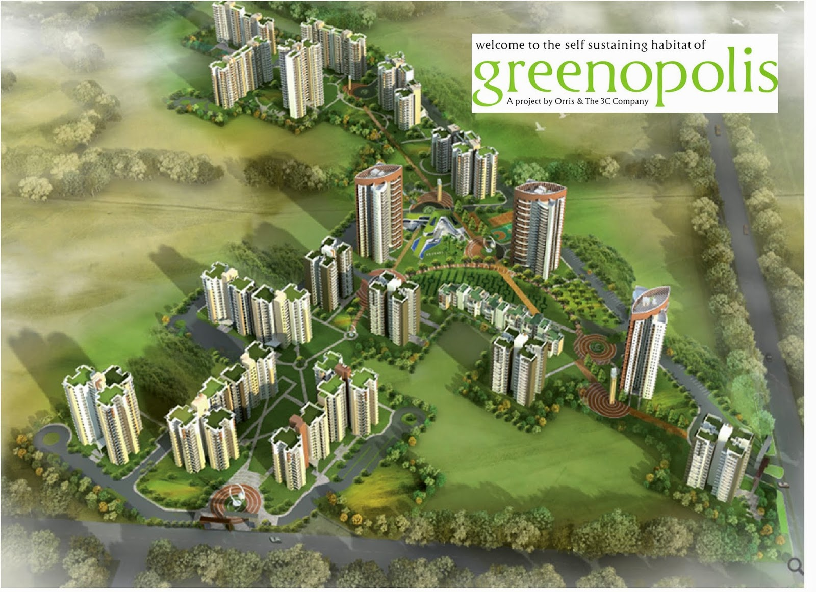 3C-Orris Greenopolis Sector-89 Gurgaon