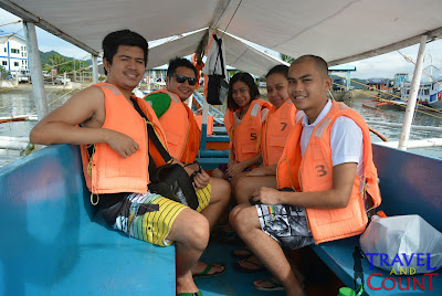 Island Hopping Tour Boat Palawan