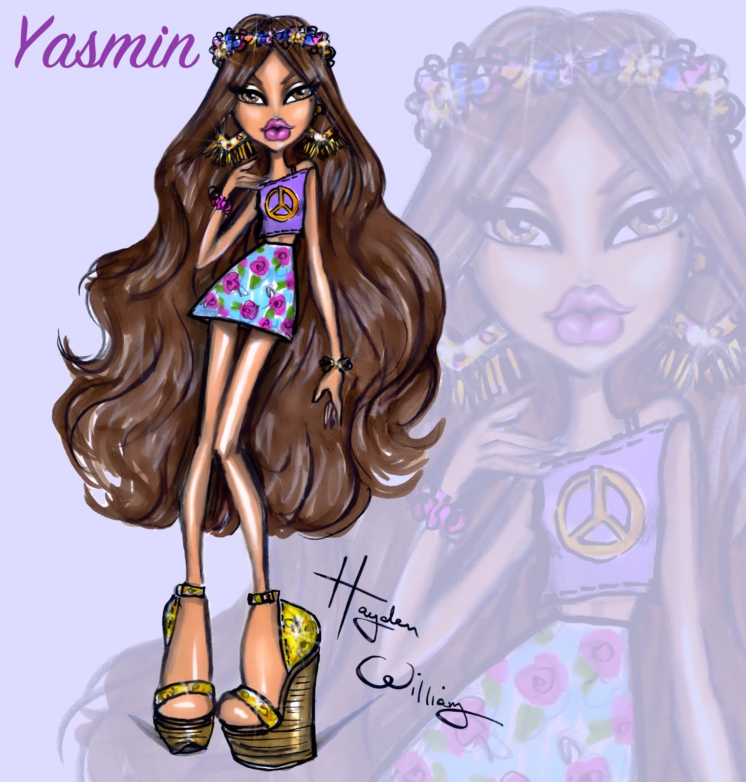 hayden williams fashion illustrations july 2015