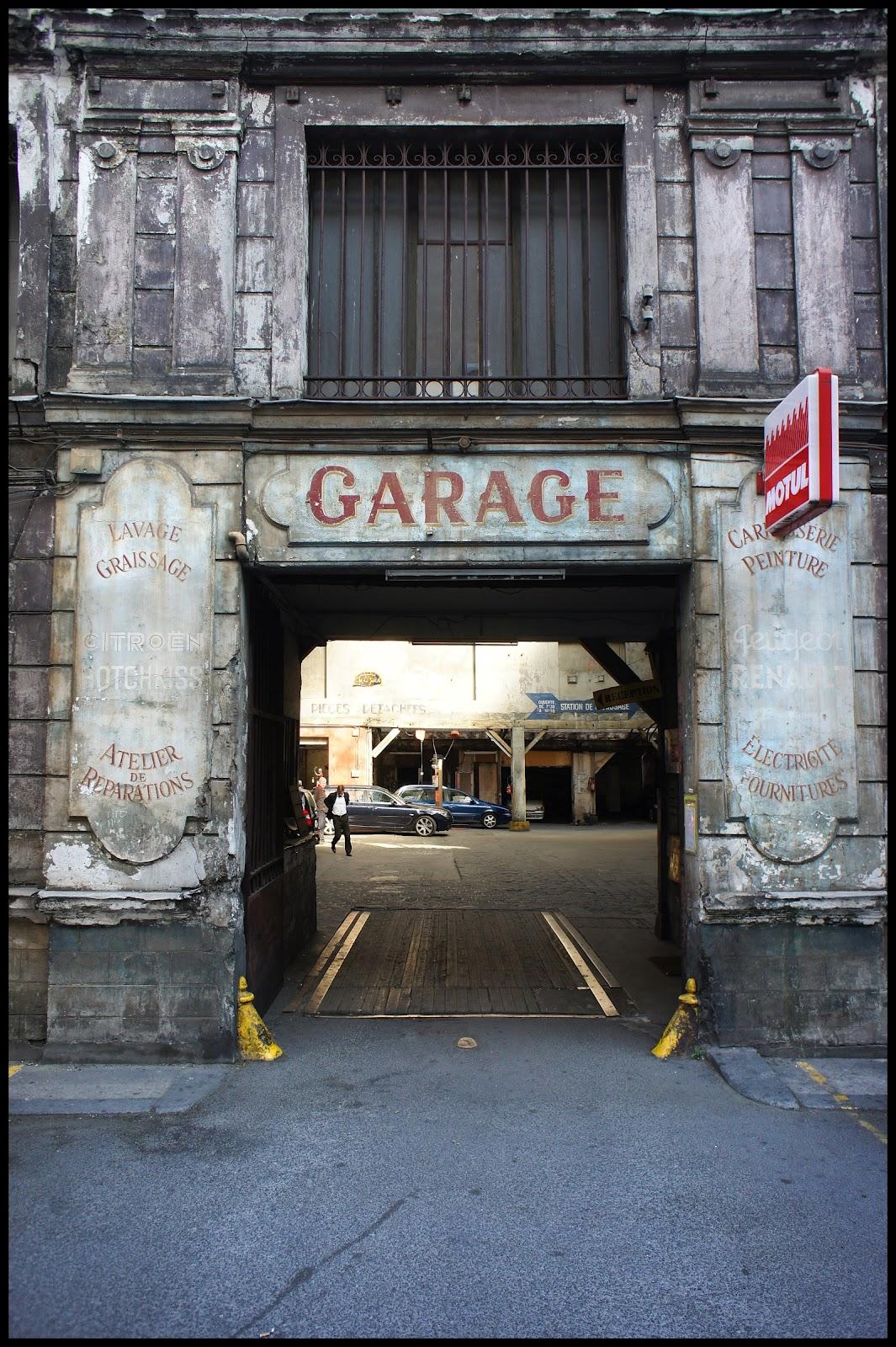 Paris le garage du g nie graffiti clips for Garage volkswagen paris 13