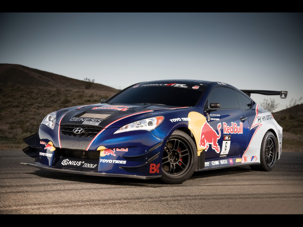 Cars Riccars Design Rmr Red Bull Hyundai Genesis Coupe