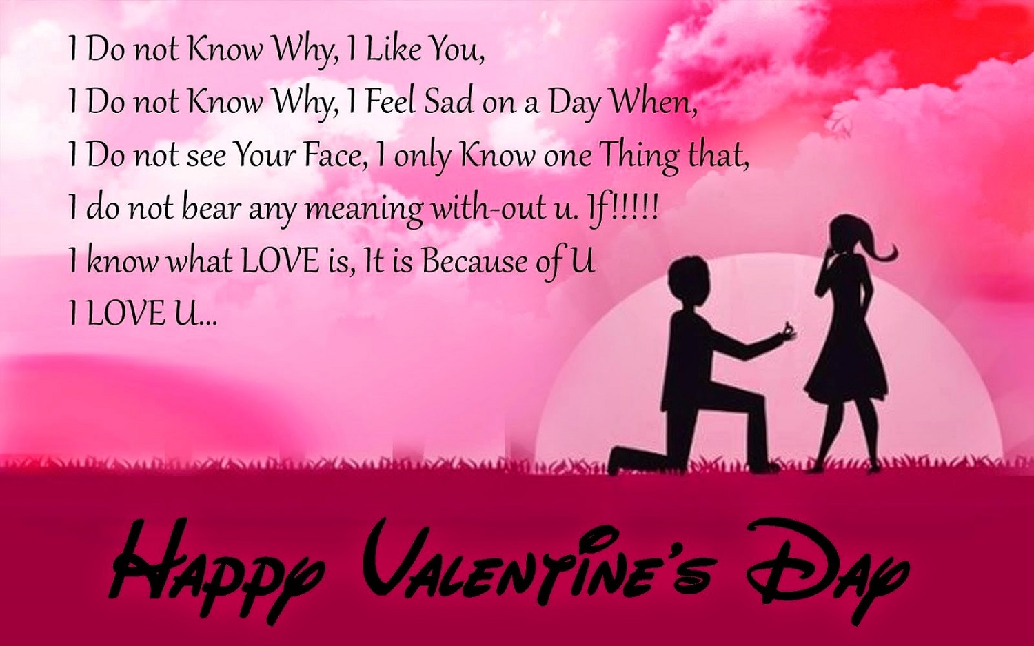 Valentines Day Quotes For Boyfriend Fascinating New 40 Happy Valentines Day 2018 Wishes For Wife  Happy