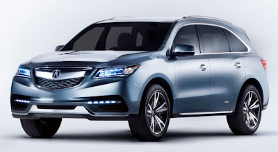 2014 Acura MDX Prototype / Concept First Photos