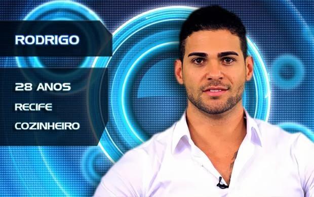 Lista de Participantes BBB14 - Participante Rodrigo