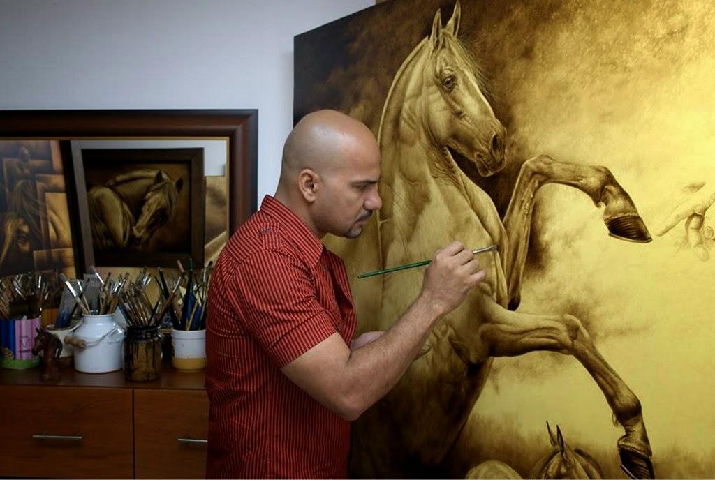 caballos-colombianos-dibujos-a-color