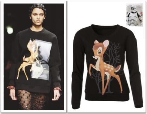 Clon Givenchy bambi