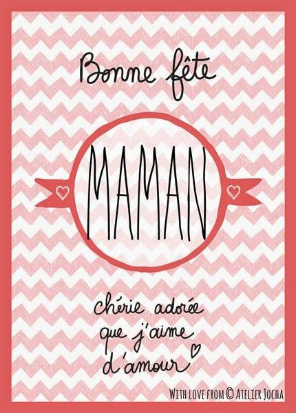 5 plusieurs modeles de cartes de voeux bonne fete maman bettinael passion couture made in france - Citation fete des meres ...