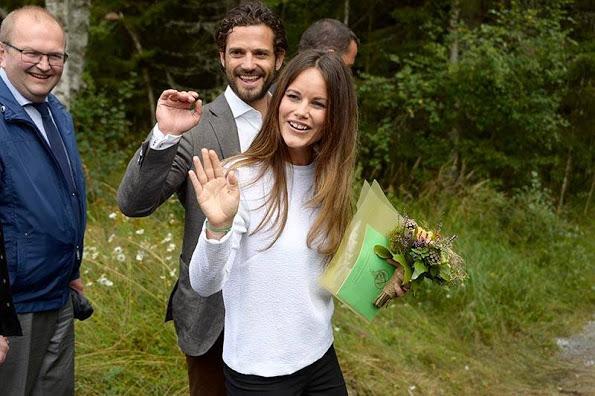 Princess Sofia And Prince Carl Philip Visit Varmland, Day 1