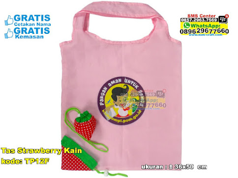 Tas Strawberry Kain unik