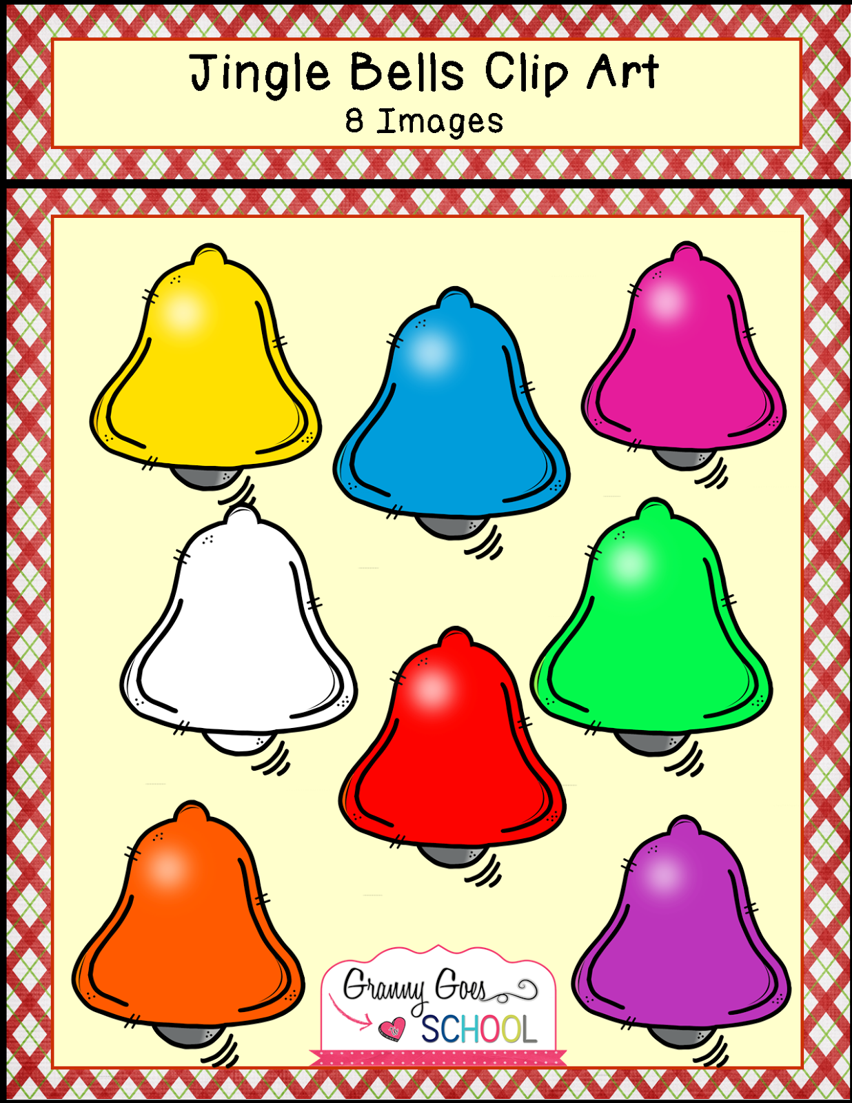 http://www.teacherspayteachers.com/Product/Jingle-Bells-Clip-Art-1599638