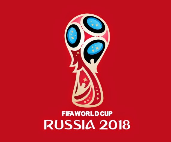 font number football logo fifa world cup 2018 vector