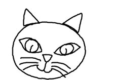 Easy Drawing Lessons For Preschool Kindergarten How To Draw A Cat