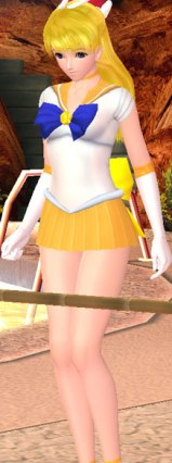 Sexy Beach 3 Sailor Moon Mods