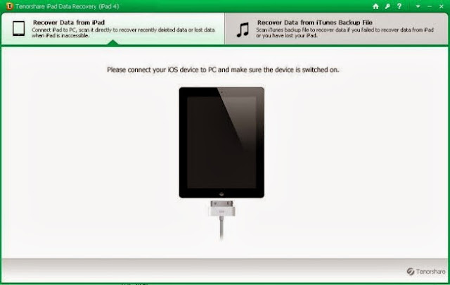 iPad data recovery program for iPad Air, iPad Mini 2
