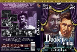 Carátula: Doble vida (1947) A Double Life