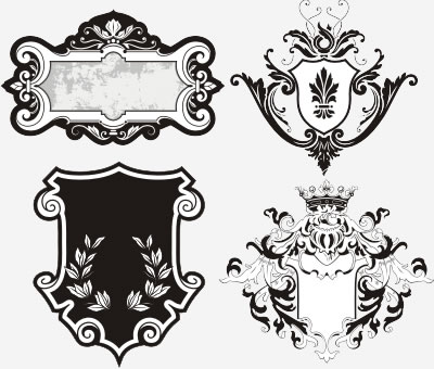 Ornaments Cdr Vector