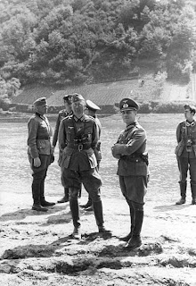 Erwin Rommel en Francia en 1940