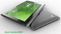 Harga dan Spesifikasi Acer Iconia Tablet A501