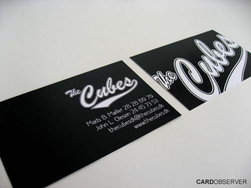 15 Black Business Card Designs Inspiration - Jayce-o-Yesta