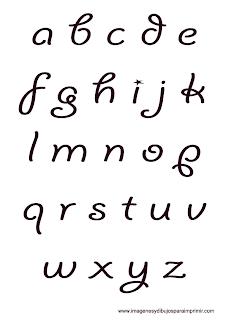 letras redondeadas con estrellas letras del abecedario bonitas letras ...