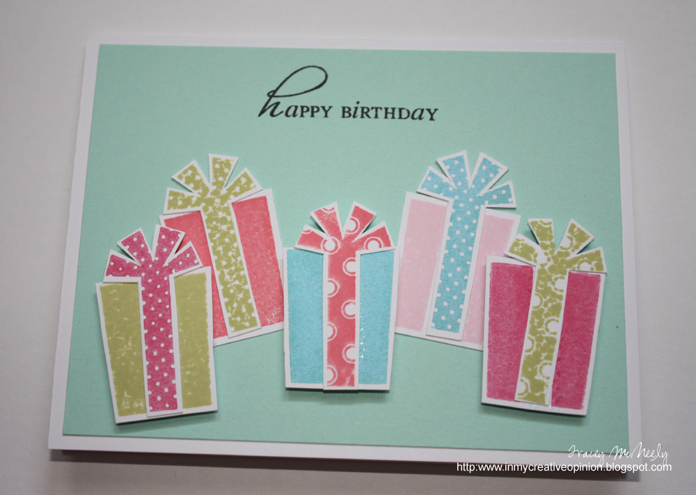 In My Creative Opinion Teen Girl Birthday Card