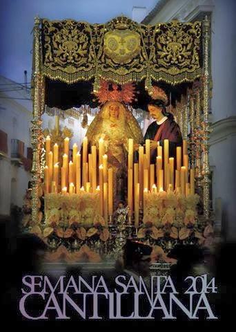 CARTEL ANUNCIADOR DE LA SEMANA SANTA DE CANTILLANA 2014