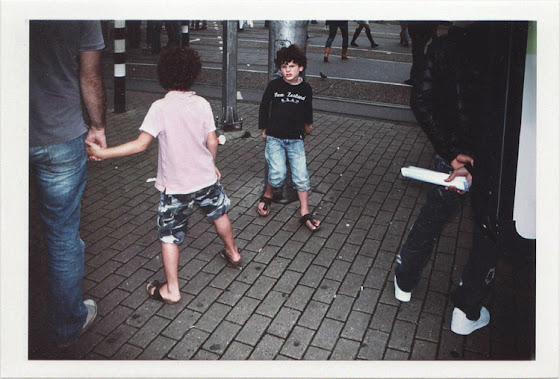 dirty photos - Once - street photo of two kids fighting in amsterdam