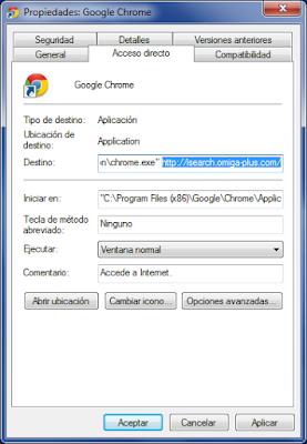 Isearch.omiga-plus.com Browser Hijacker